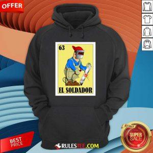 Spanish Welder Lottery El Soldador Hoodie