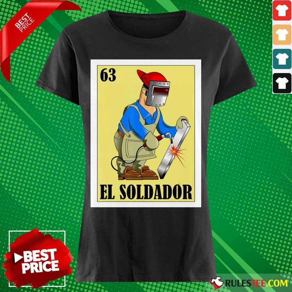 Spanish Welder Lottery El Soldador Ladies Tee