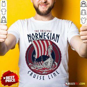 The Original Norwegian Cruise Line Viking Ship Shirt