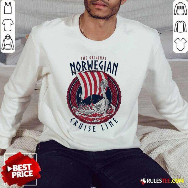 The Original Norwegian Cruise Line Viking Ship Sweater