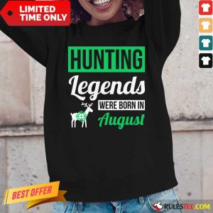 Top Hunting Legends Were Born In August Birthday Long-Sleeved