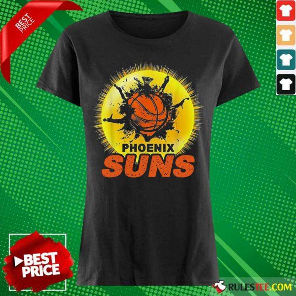 Top Team Baseball Phoenix Suns Ladies Tee