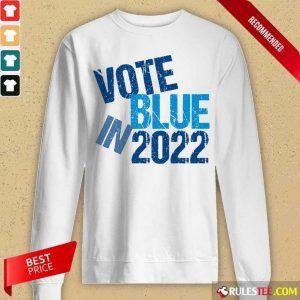 Top Vote Blue In 2022 Long-Sleeved