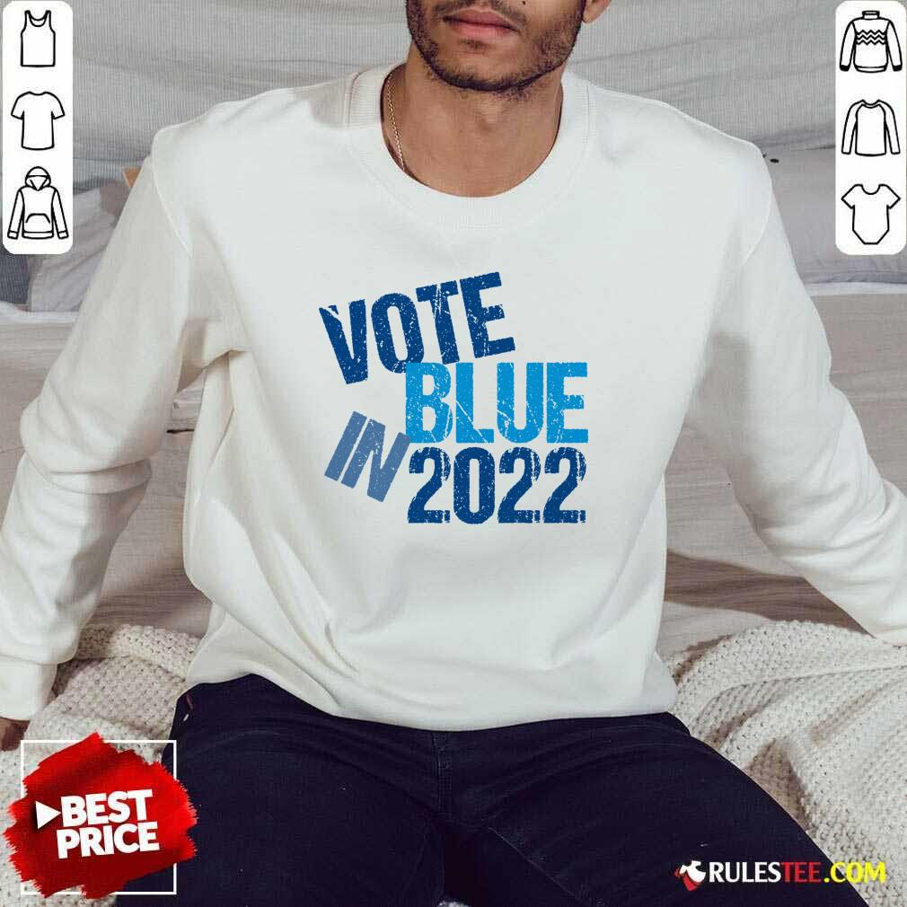 Top Vote Blue In 2022 Sweater