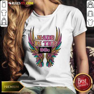 Wings Made In The 80s Vintage Ladies Tee