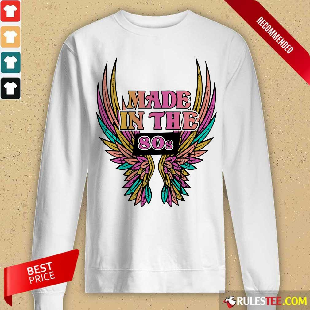 Wings Made In The 80s Vintage Long-Sleeved
