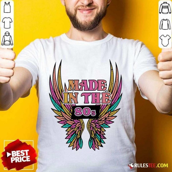Wings Made In The 80s Vintage Shirt